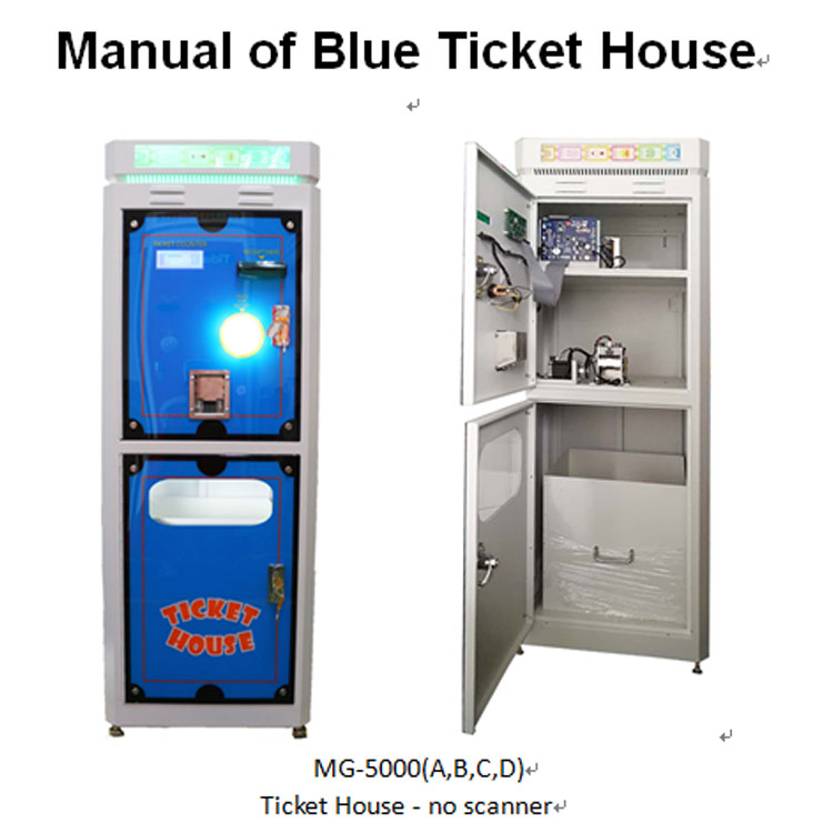 Hot Selling Ticket house for Redemption Game Machine