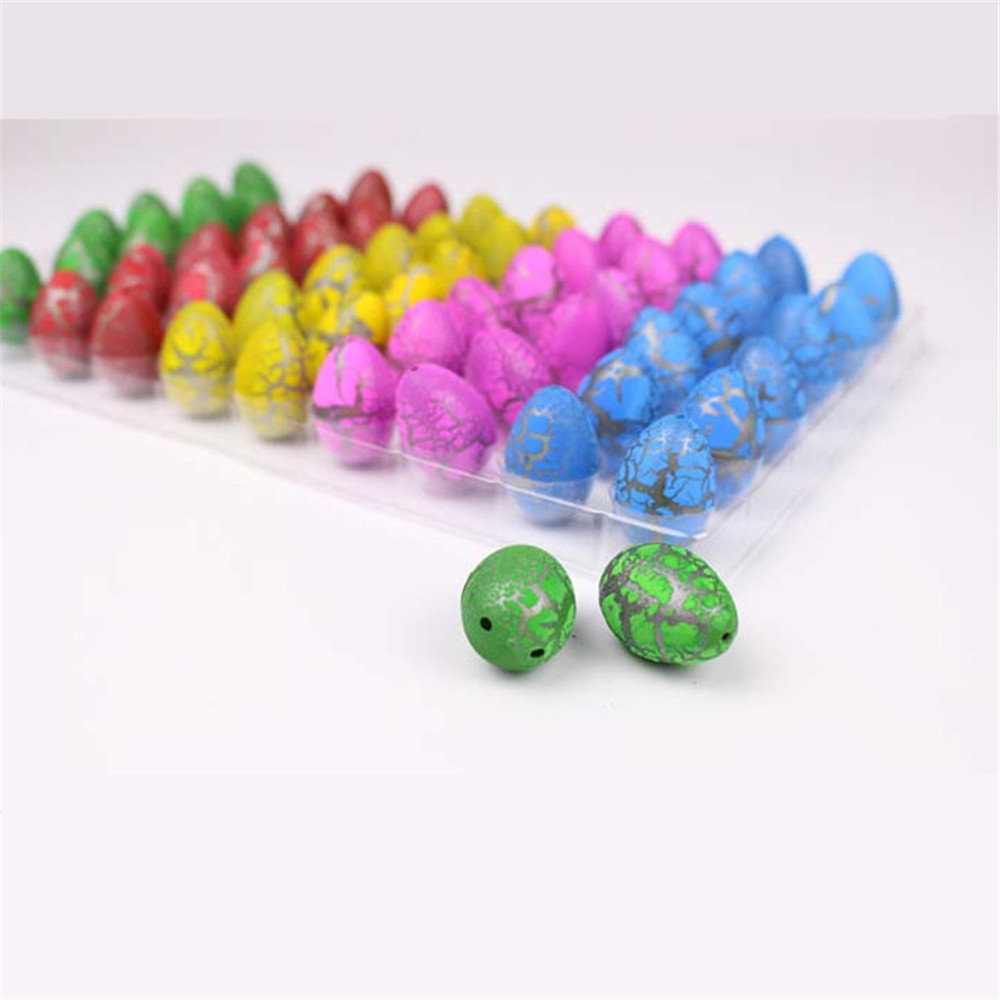 New Design Hot Sale Water Expanding Plustic Dinosaur Egg Toys Hatching Eggs Growing Pet Egg Kid Toy
