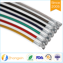 High performance racing car braided ptfe hose
