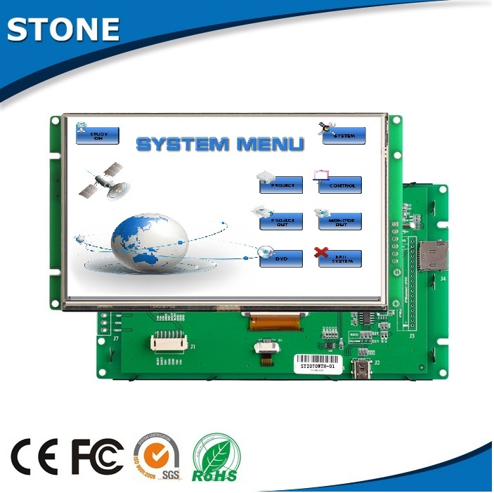 "4.3"" capacitive panel intelligent display touch skin rejuvenation controller"