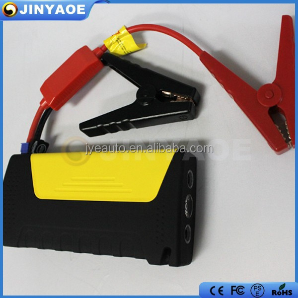 Two USB output powerbank portable car emergency jump start power supply 12v multi function car jump starter
