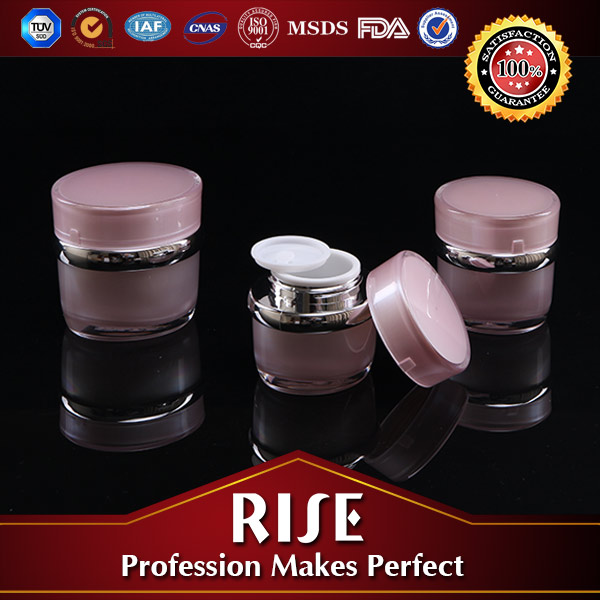 Best Selling SGS Certified Acrylic Round Jar For Cosmetics