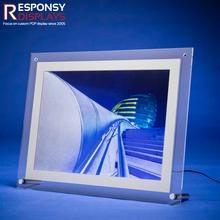 Countertop Acrylic Advertising Board Photo Display Picture Frame