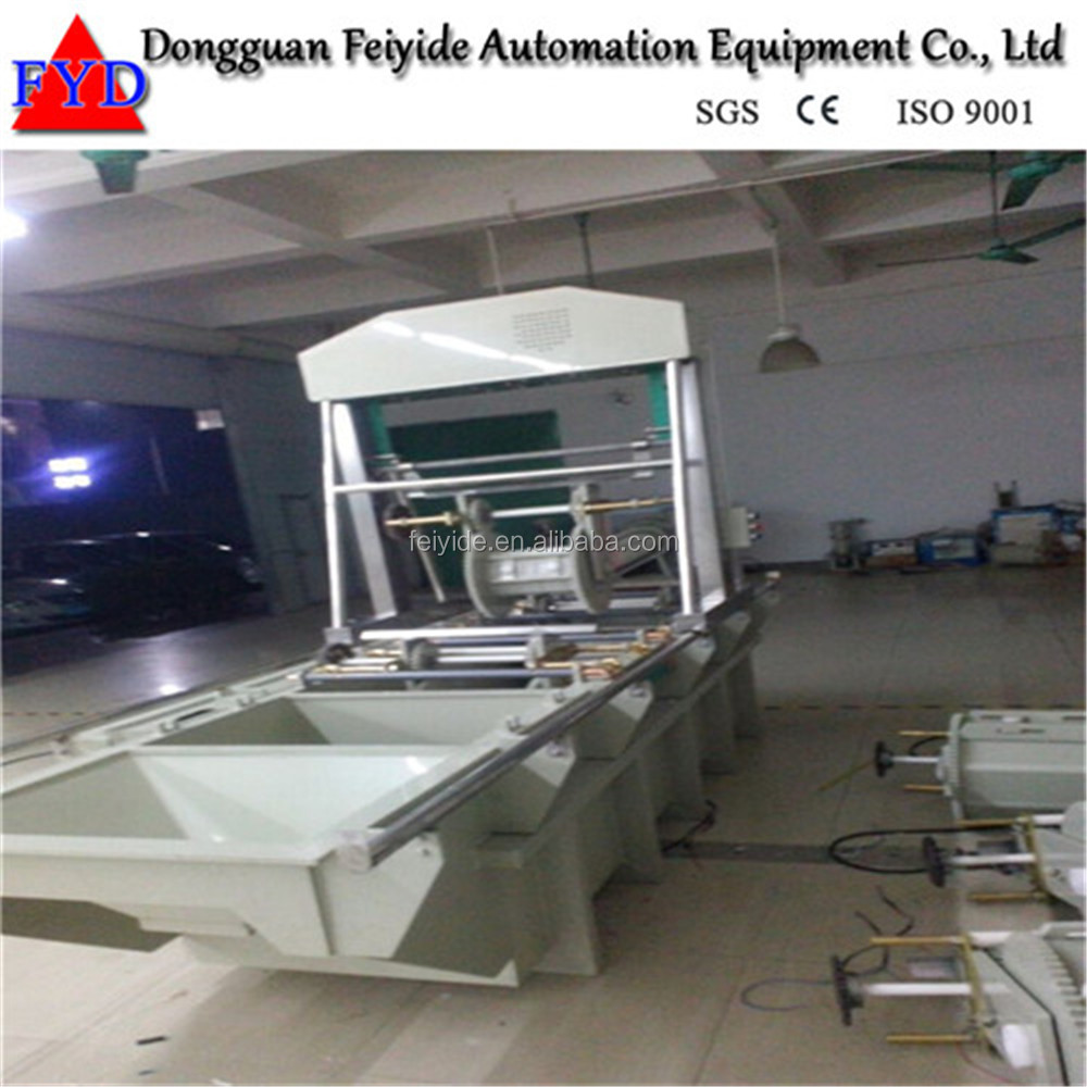 Feiyide Semi Automatic Barrel Zinc Nickel Plating Machine Equipment