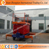 Small aerial mobile one man scissor lift platform hydraulic vertical man lift