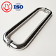 Factory Price Fancy Hardware O Shape Handles Tempered Glass Shower Door Handle