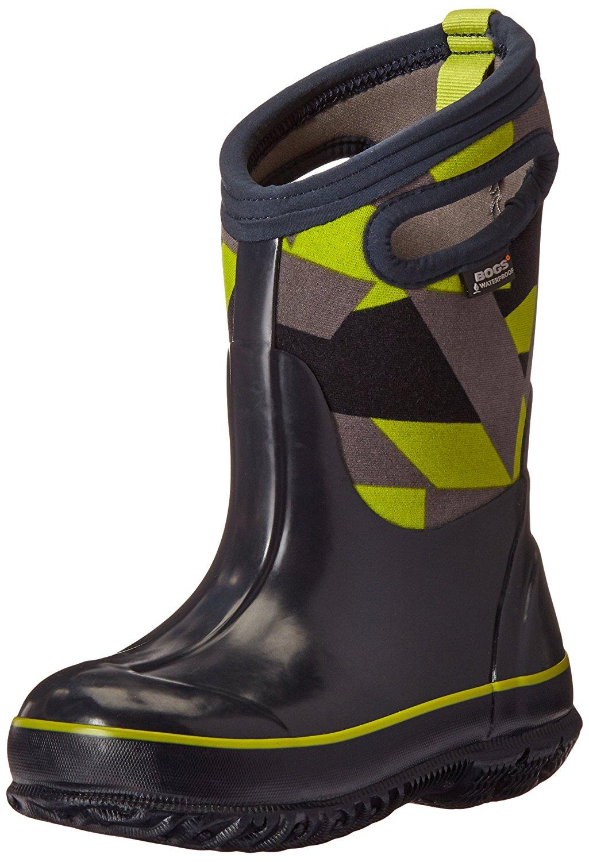 f64b84982d31 Get Quotations · Bogs Kids  Classic High Waterproof Insulated Rubber  Neoprene Rain Boot Snow