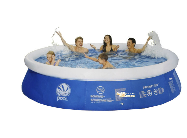 round dish laminated inflatable swimming pool adult child. Black Bedroom Furniture Sets. Home Design Ideas
