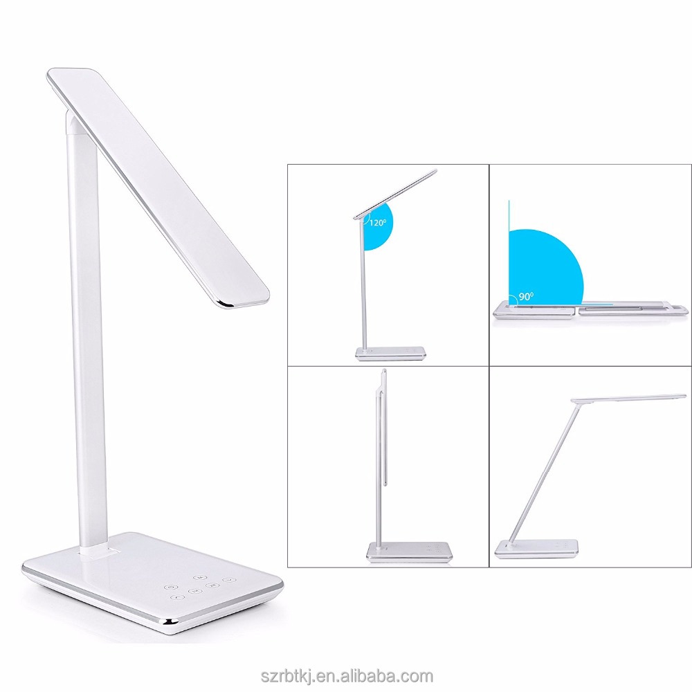 Induction charging pad LED desk <strong>lamp</strong> QI wireless charger <strong>lamp</strong> 5V/2A USB port desktop <strong>lamp</strong> led