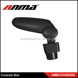 Black Custom Car Center Armrest Console Box