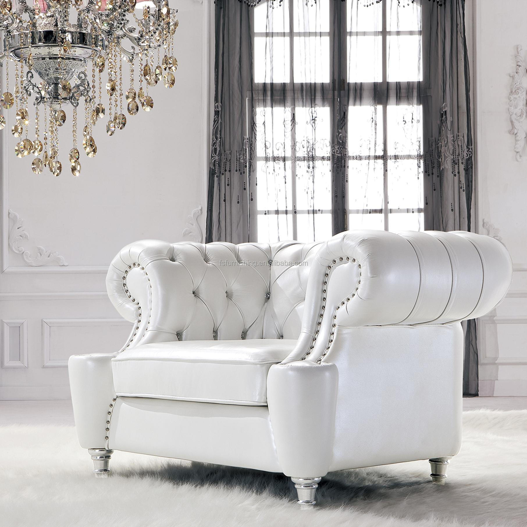 Jr307 Modern Contemporary White Color Genuine Thick Leather Retro Diamond Stitch Living Room Sofa Set 1 2 3 Ottoman Buy Living Room Soft
