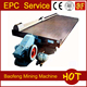 Gravity separating machines dressing equipment gold mining machine shaking table with low price