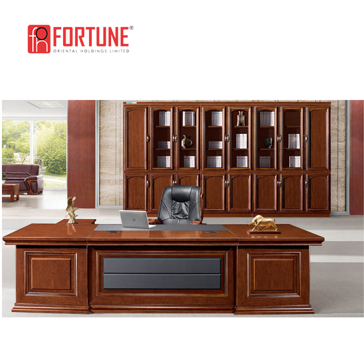 New Design Traditional Executive Desk Mdf Office Table With Side Return -  Buy Mdf Office Table With Side Return,Traditional Executive Desk,New Design  ...