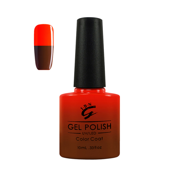 oem your own brand available ice beauty nail soak off color changing uv gel lacquers nail polish