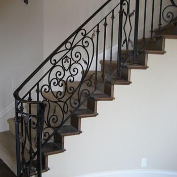 2018 Decoratif En Fer Forge Interieur Rampes D Escalier Buy Rampes D Escalier D Interieur En Fer Forge Decoratif Rampes De Porche En Fer