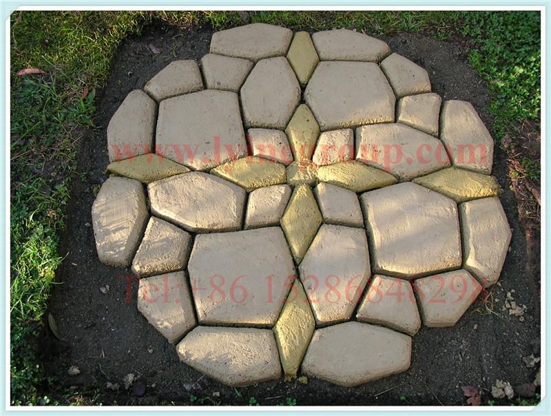 40x40x4cm Diy Your Garden New Paver Random Garden Molds