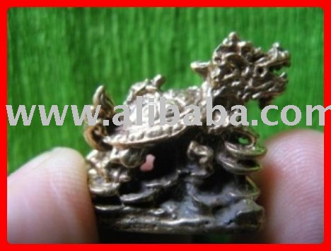 Thai Amulet MONEY RICH POWER 5 MAGIC TURTLE LP LEW AMULET TALISMAN