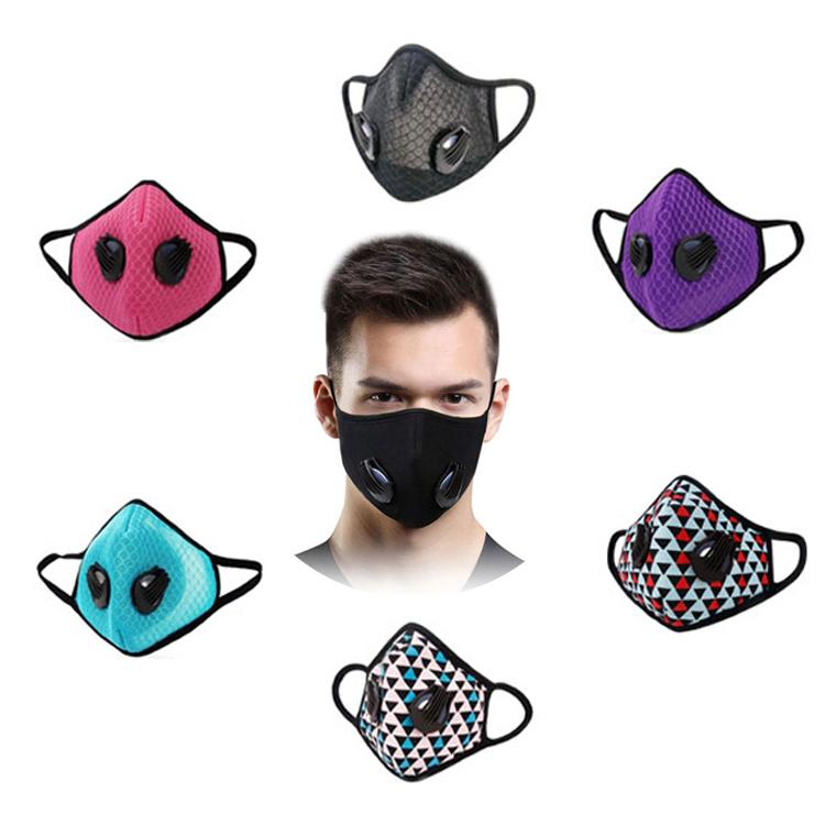 GLORSUN carbon filter allergy mouth and nose folding respirator mask - KingCare.net