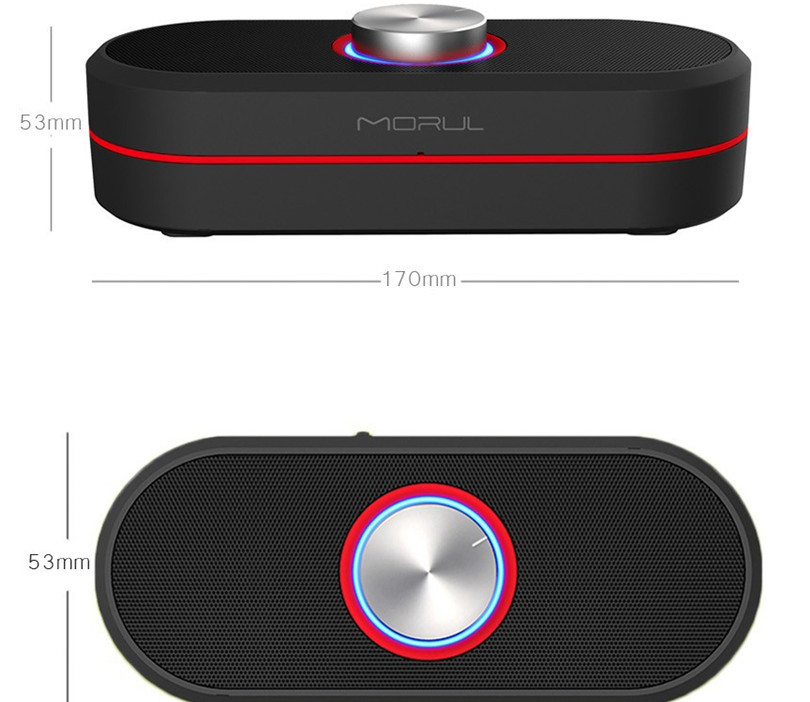 VKING Morul MOFI H2 Bluetooth Speaker Portable Subwoofer Outdoor Wireless Speaker Bass Music Mobile Audio Speaker