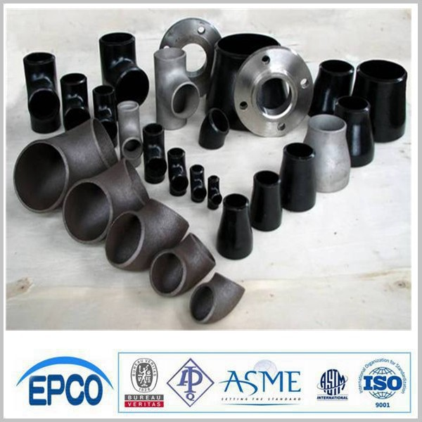 Seamless pipe fitting carbon steel tee/ steel butt welded pipe fitting B16.9 A234 WPB