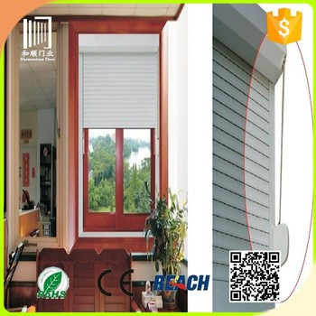 Metal roll up windows roller shutter exterior window fuyang buy roller shutter exterior window for Roll up window shutters exterior