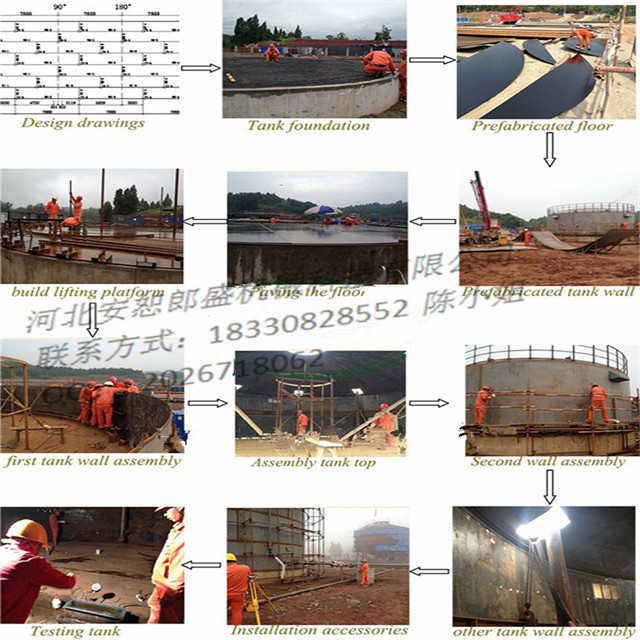 Road Equipment Diesel Heater Oil Heating Asphalt Tank Design, manufacture and installation