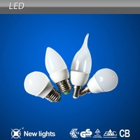 All Kinds of Plastic Led Bulb SMD2835 3W Lighting Lamp with 120 Degree Beam Angle