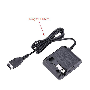 Home Wall Charger for Travel Charger AC Adapter, for NDS DS GBA Game Console, Game Boy Advance SP & Nin-tendo DS- US Plug-LBT