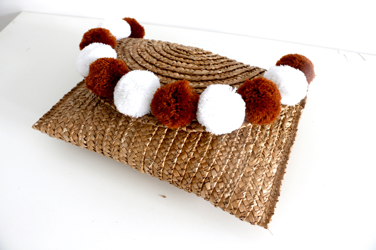 beautiful straw clutch bag crochet for sale for ladies-4