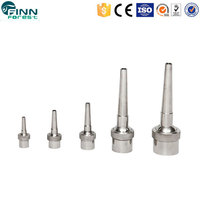 Stainless steel dancing effect jumping jet fountain nozzle water spray nozzles vee jet spray nozzle