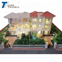 3D display architectural models for Real Estate , miniature real estate model