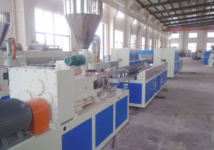 China supplier upvc fascia board machine