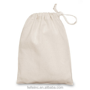 Natural recycled standard size organic cotton string bag