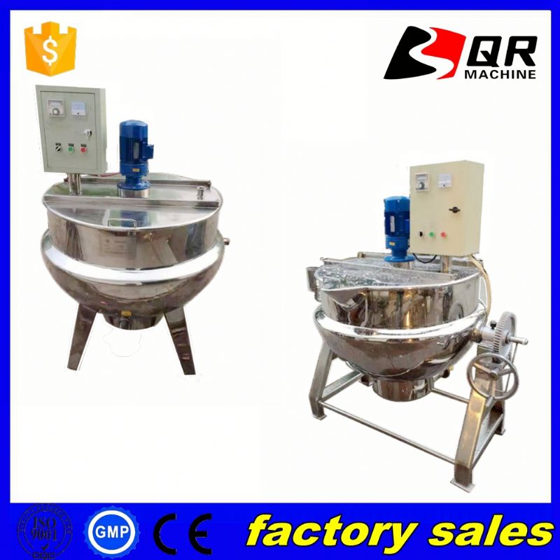 jacketed cooking kattle,stainless steel electric thermo kettle,industrial jacketed glass reactor