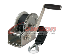 1200lbs stainless steel hand winch / mini hand anchor winch