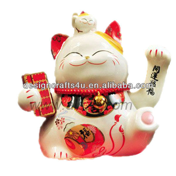 high quality maneki neko for gifts and decoration