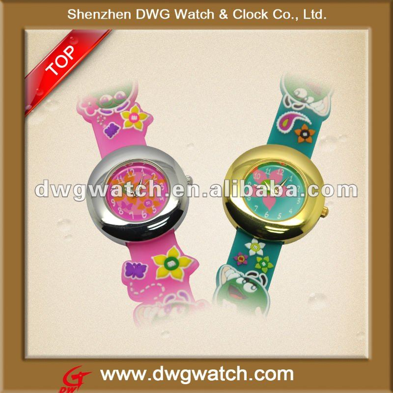 2012 Silicone 3D Cartoon Watch For Kids/Children