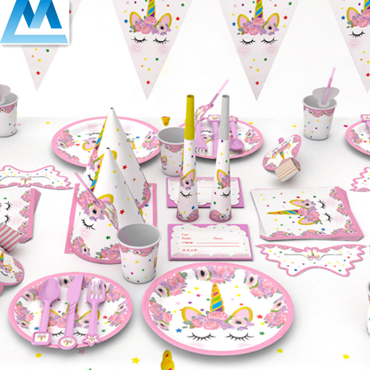 Pink Cartoon Theme Party Supplies Decorative Items For Girls Birthday - Buy  Pink Cartoon Theme Party Supplies,Girl's Birthday Decoration,Party