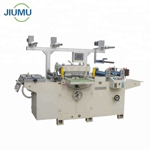 Automatic high speed paper roller die cutter