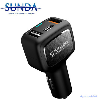 New model Type C PD car charger
