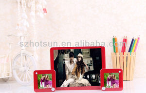 wholesale clear acrylic sublimate picture photo frames for photos