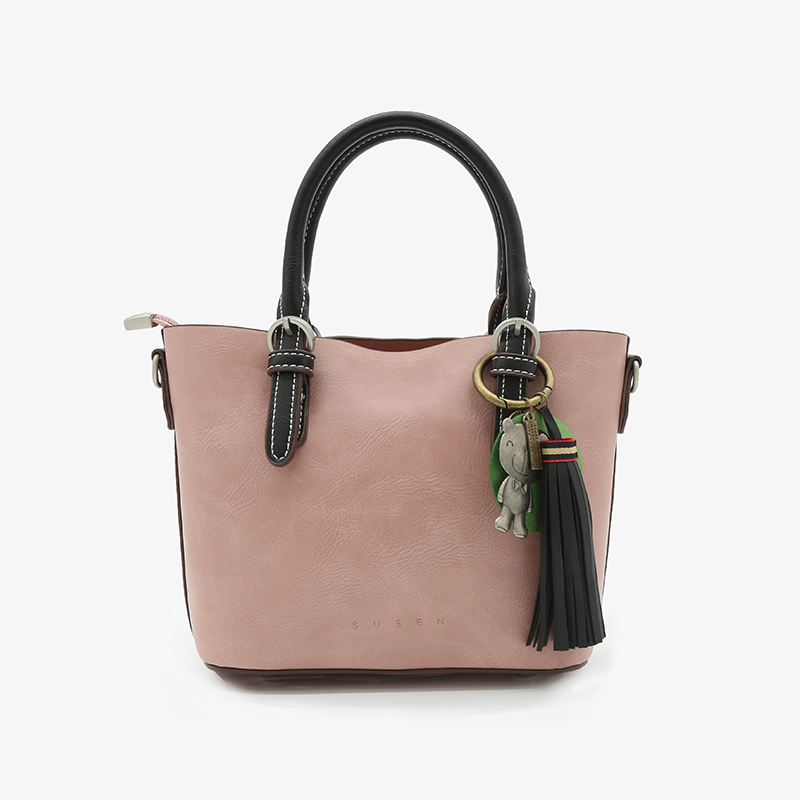 SUSEN Top vente produits 2018 à la mode promotionnel pu sac à main en cuir dames sling bag