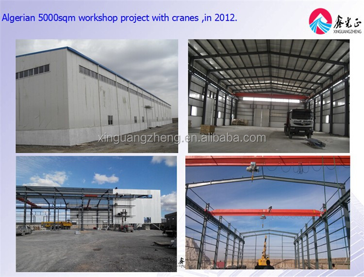 pre-engineered structural steel workshop building