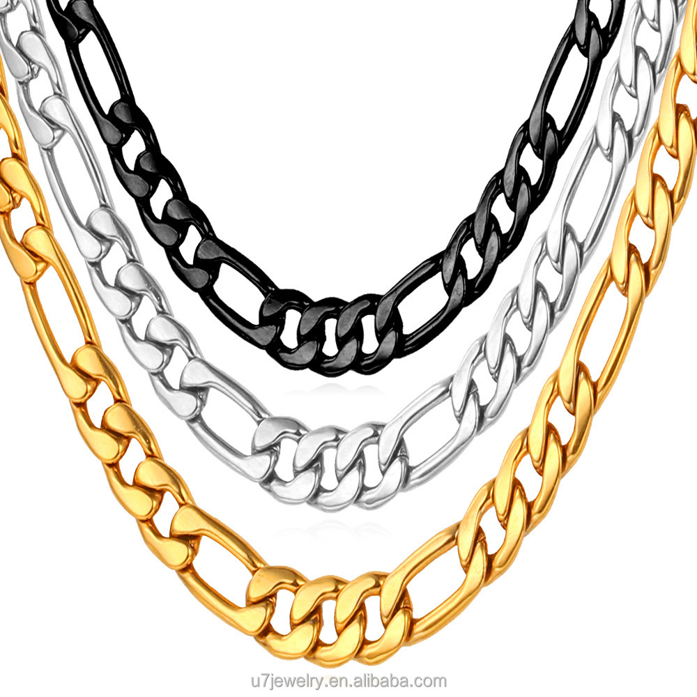 link gold real yellow products necklace chain curb cuban