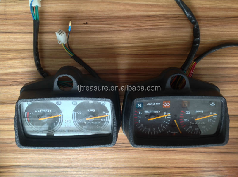 multifunctional motorcycle sspare parts small speedometer/tachometer/speed chart/speed clock