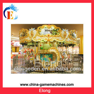 Carousel for 18 seaters fairground games merry go round