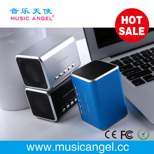 download free mp3 songs mini speaker pc portable speaker cartoon speaker Music Angel JH-MD05 micro SD/TF card