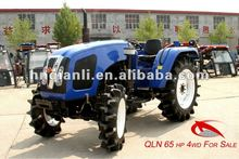 QLN-654 Farm tractor 65hp 4wd with trailer. Check here to get tractor price list