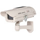 Solar Powered Cctv Security Fake Dummy Camera with Human Sensor and Flash Lights