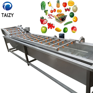 high pressure air bubble fruit washing machine,orange/strawberry/apple/lemon cleaning machine,stainless steel fruit washer